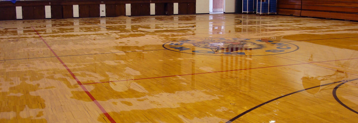 Dry Your Wet Gym Floor In Place